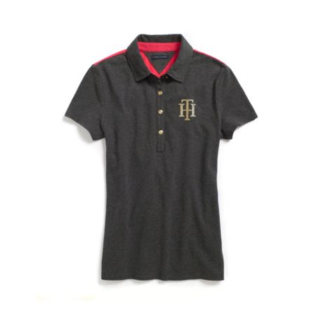 Image for FASHION SEQUIN POLO from Tommy Hilfiger USA
