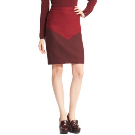 Image for CHEVRON PENCIL SKIRT from Tommy Hilfiger USA