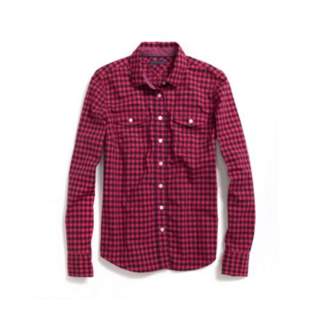 Image for OVER DYE CHECK SHIRT from Tommy Hilfiger USA