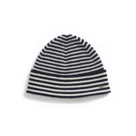 Image for CASHMERE STRIPE HAT from Tommy Hilfiger USA