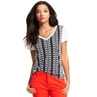 EXPLODED DOT GRAPHIC TEE $24.99