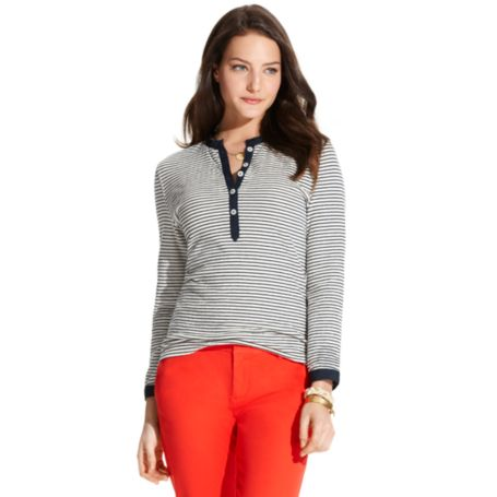Image for STRIPE JERSEY HENLEY from Tommy Hilfiger USA