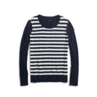 STRIPE SWEATER $79.00