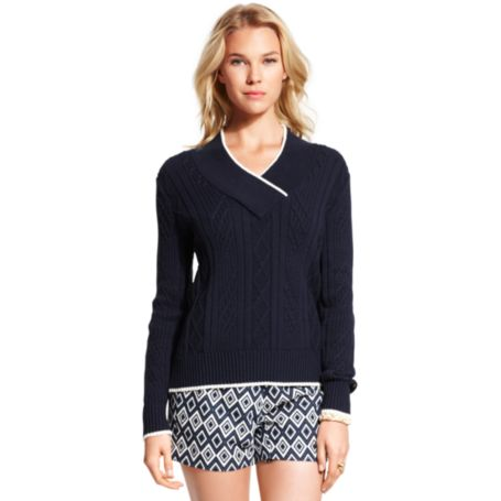 Image for PRINTED PATTERN SWEATER from Tommy Hilfiger USA