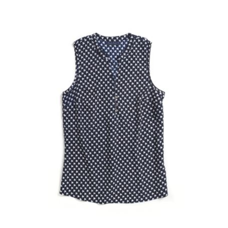 Image for PRINTED SLEEVELESS TOP from Tommy Hilfiger USA