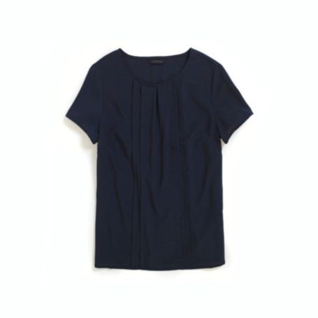 Image for PLEATED SHORT SLEEVE SHIRT from Tommy Hilfiger USA