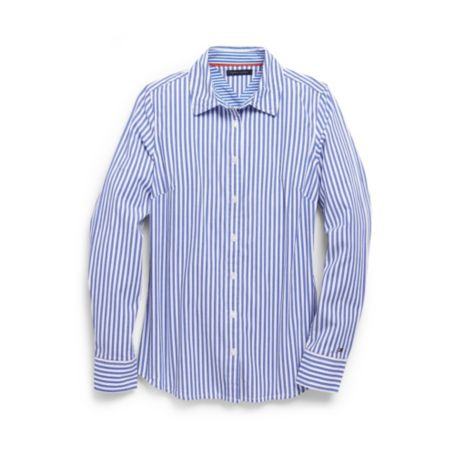 Image for STRETCH STRIPE SHIRT from Tommy Hilfiger USA