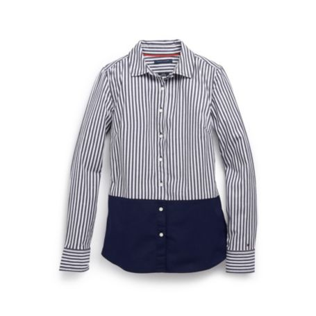 Image for BLOCKED STRIPE SHIRT from Tommy Hilfiger USA