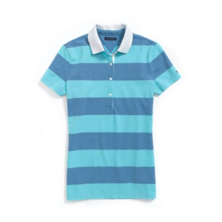 Image for STRIPE OXFORD POLO from Tommy Hilfiger USA