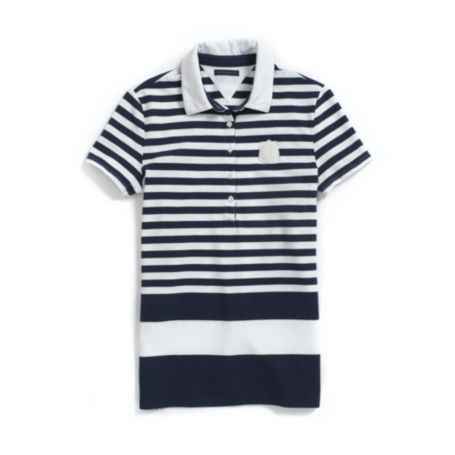 Image for TIPPED STRIPE POLO from Tommy Hilfiger USA