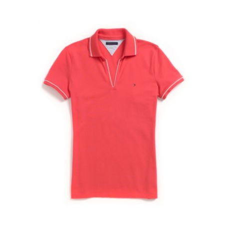 Image for BUTTONLESS POLO from Tommy Hilfiger USA