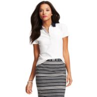 GINGHAM FASHION POLO $59.00