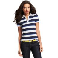 RUGBY STRIPE POLO $59.00
