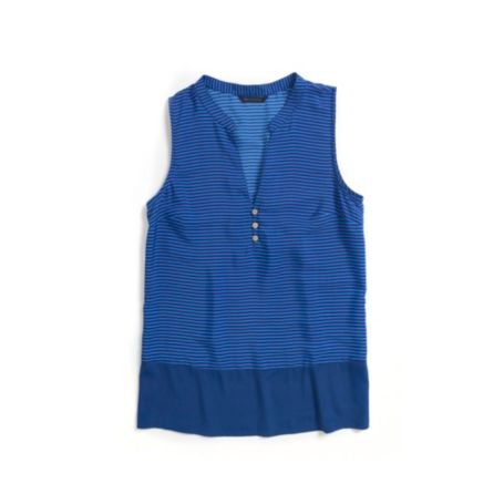 Image for STRIPE BORDER SLEEVLESS TOP from Tommy Hilfiger USA