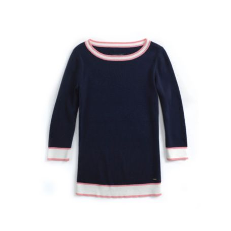Image for TIPPED BATEAU SWEATER from Tommy Hilfiger USA