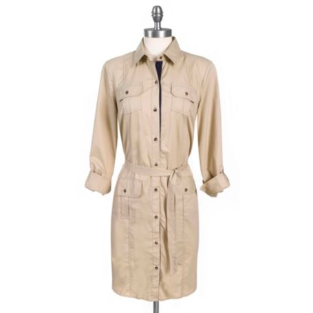 Image for MILITARY  SHIRTDRESS from Tommy Hilfiger USA