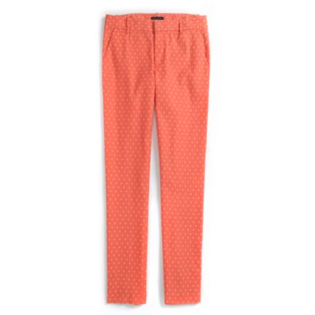 Image for DOT PIQUE SLIM ANKLE PANT from Tommy Hilfiger USA