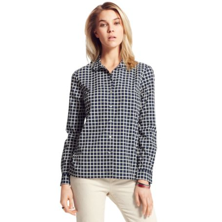 Image for PRINTED CHECK SHIRT from Tommy Hilfiger USA