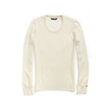 Image for SOLID CREWNECK SWEATER from Tommy Hilfiger USA