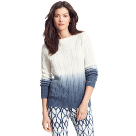 Image for DIP DYE SWEATER from Tommy Hilfiger USA
