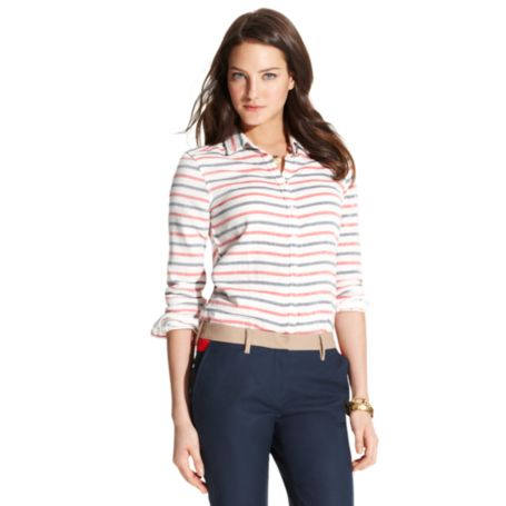 Image for HORIZONTAL STRIPE SHIRT from Tommy Hilfiger USA