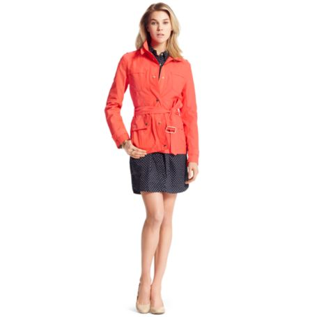 Image for BELTED FIELD JACKET from Tommy Hilfiger USA