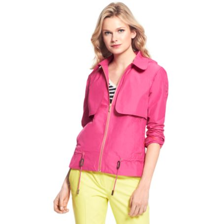 Image for SHORT TRENCH ANORACK from Tommy Hilfiger USA