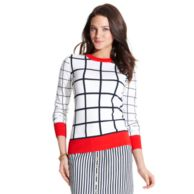 WINDOWPANE SWEATER $129.00