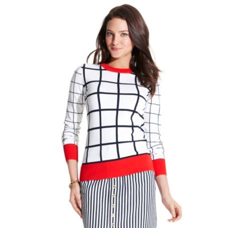 Image for WINDOWPANE SWEATER from Tommy Hilfiger USA