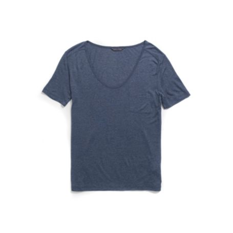 Image for SCOOP NECK TEE from Tommy Hilfiger USA