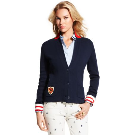 Image for STRIPE BACK BLAZER from Tommy Hilfiger USA