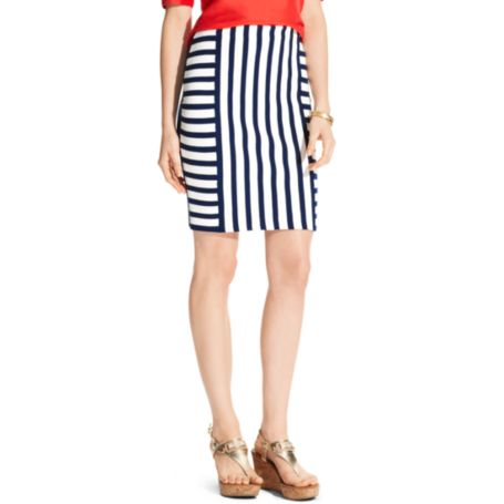 Image for MIX STRIPE SKIRT from Tommy Hilfiger USA