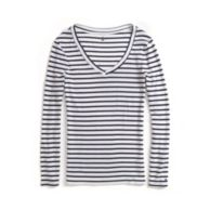 LONG SLEEVE STRIPE KNIT TOP $19.99