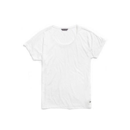 Image for GOSSAMER LEOPARD PRINT TEE from Tommy Hilfiger USA