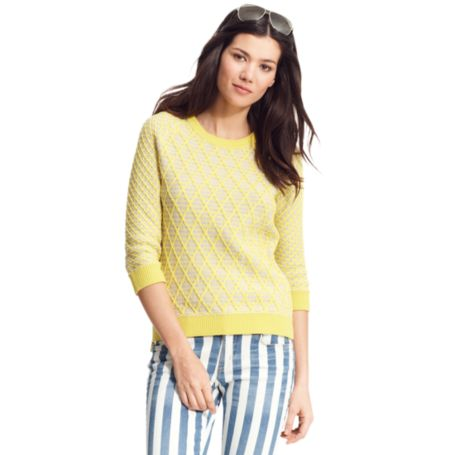 Image for GEO CREW NECK SWEATER from Tommy Hilfiger USA