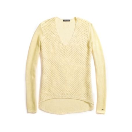 Image for LINEN OPEN-KNIT SWEATER from Tommy Hilfiger USA