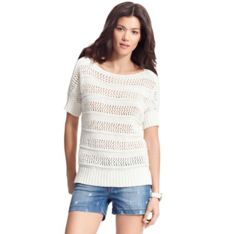 Image for OPEN KNIT BEACH SWEATER from Tommy Hilfiger USA
