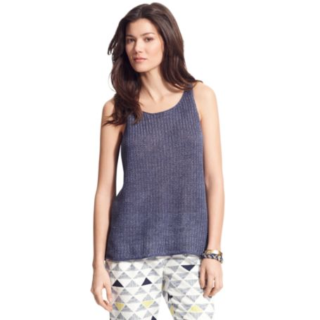 Image for LINEN TANK from Tommy Hilfiger USA