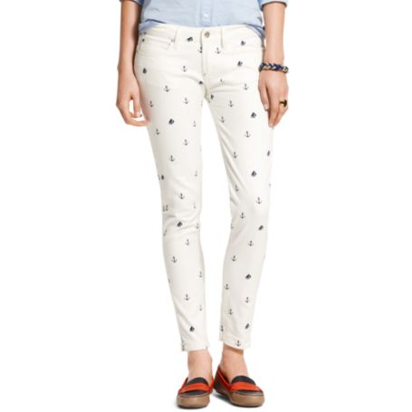 Image for CRITTER PRINTED SKINNY JEAN from Tommy Hilfiger USA