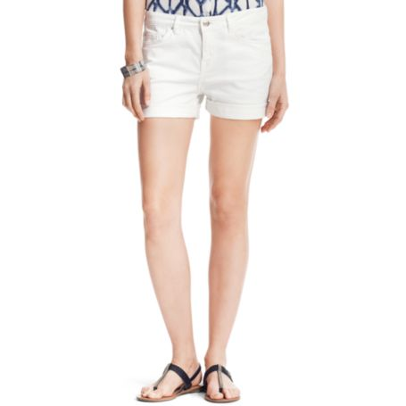 Image for WHITE JEAN SHORT from Tommy Hilfiger USA