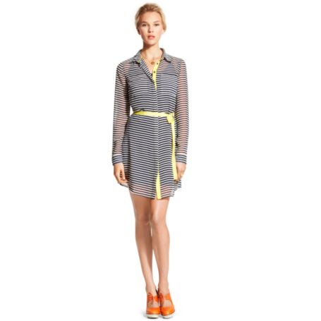 Image for HORIZONTAL STRIPE SHIRT DRESS from Tommy Hilfiger USA