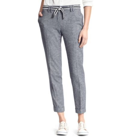Image for CHAMBRAY SUMMER TROUSER from Tommy Hilfiger USA