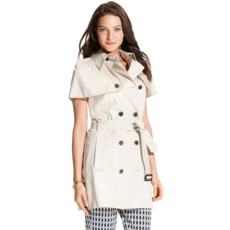 Image for SLEEVELESS TRENCH from Tommy Hilfiger USA