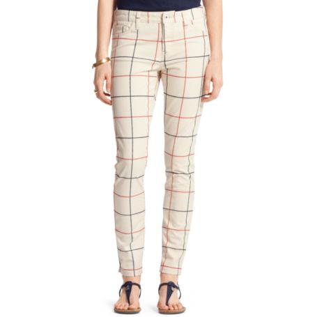 Image for WINDOWPANE SKINNY JEAN from Tommy Hilfiger USA