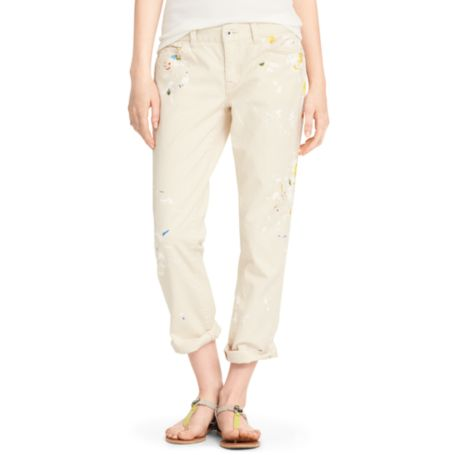 Image for SPLATTER PAINTED BOYFRIEND JEAN from Tommy Hilfiger USA