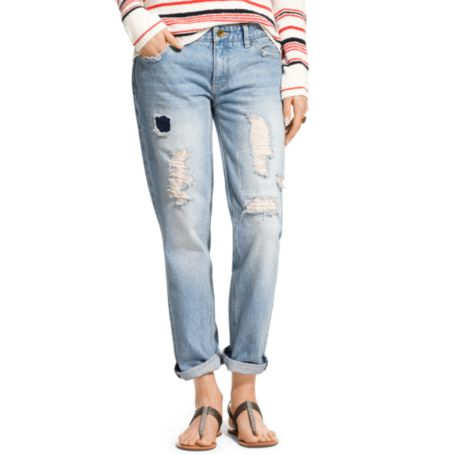Image for RIP AND REPAIR BOYFRIEND JEAN from Tommy Hilfiger USA