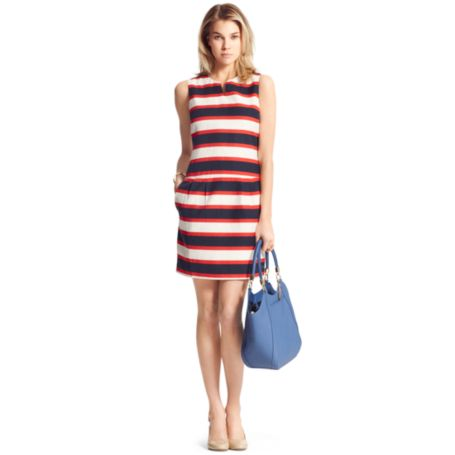 Image for HORIZONTAL STRIPE DRESS from Tommy Hilfiger USA