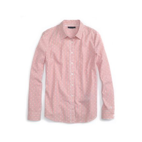 Image for STRIPE DOT LONG SLEEVE SHIRT from Tommy Hilfiger USA