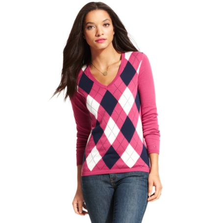 Image for CLASSIC ARGYLE SWEATER from Tommy Hilfiger USA