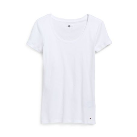 Image for PERFECT SOLID SHORT SLEEVE TEE from Tommy Hilfiger USA